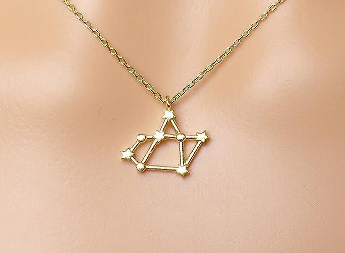 Amazon Zodiac Necklacesagittarius Zodiac Constellation Sign
