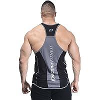 Decisive Fitness Designer Gym Stringer, Gym Vest (3 Ton Stringer)