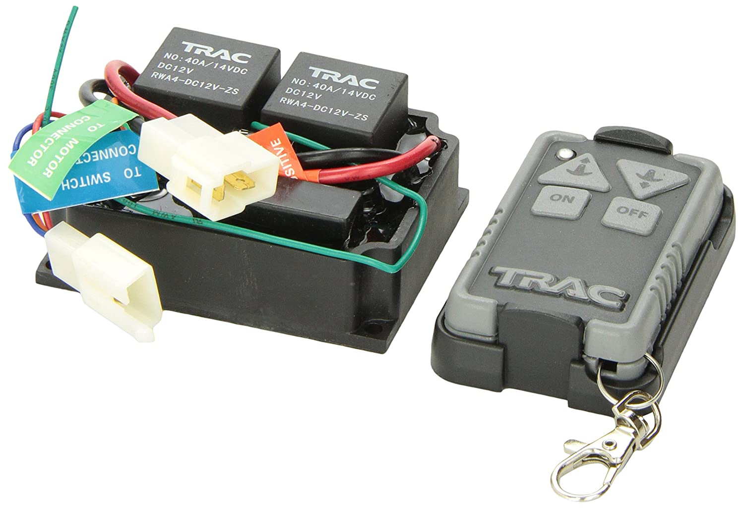 amazoncom trac outdoor products t10116 wireless remote kit automotive
