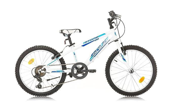 """4 opinioni per Bikesport ELEMENT Bicicletta per Bambina 20"""" ,6 velocità (Gloss bianco)"""