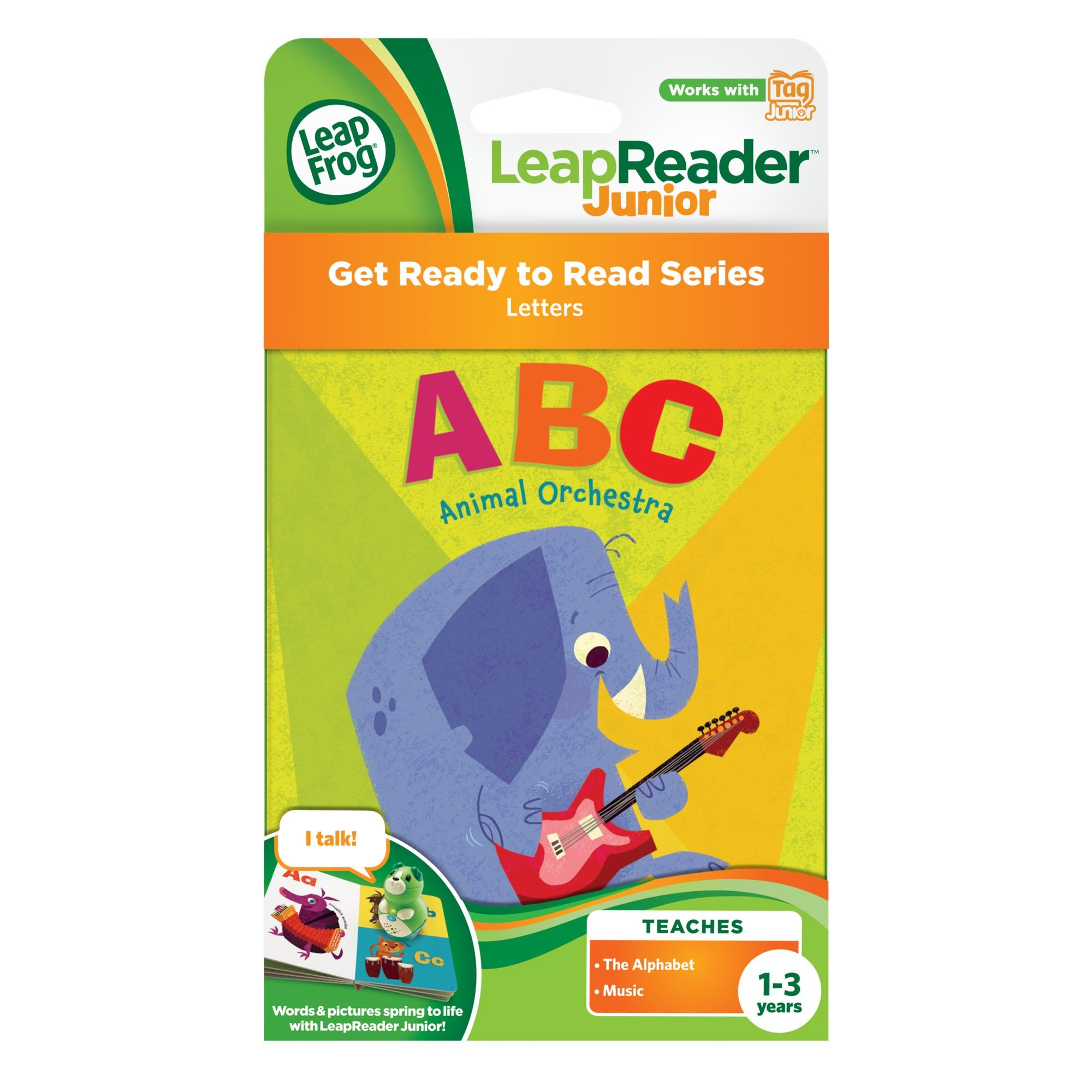 LeapFrog LeapReader Junior Book: ABC Animal Orchestra (works with Tag) by LeapFrog (Image #3)