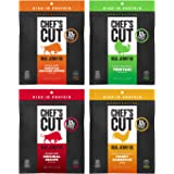 Chef's Cut Tender Real Beef, Chicken, and Turkey Jerky, Variety Pack, 2.5 Ounce (Pack of 4)