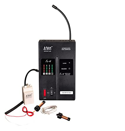 Aquabrim Wireless Water level Indicator & Alarm:FX-4i Model(Domestic): For  ONE Tank