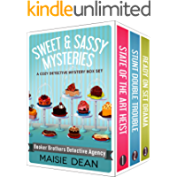 Sweet and Sassy Mysteries - 3 Book Series Box Set: Cozy Mystery Bundle
