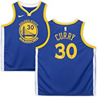 $489 » Stephen Curry Golden State Warriors Autographed Nike Blue Swingman Jersey - Fanatics Authentic Certified