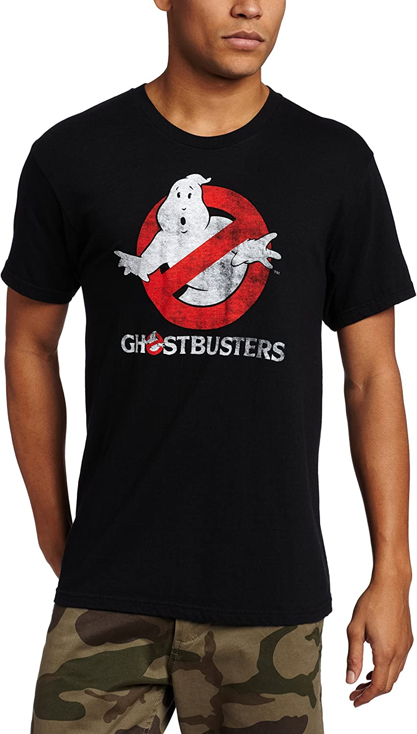 Ghostbusters Men's Ghostbusters Logo Costume T-Shirt