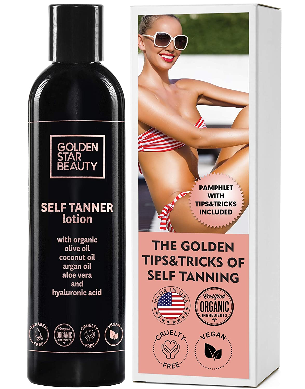 Golden Star Beauty Self-tanner Lotion
