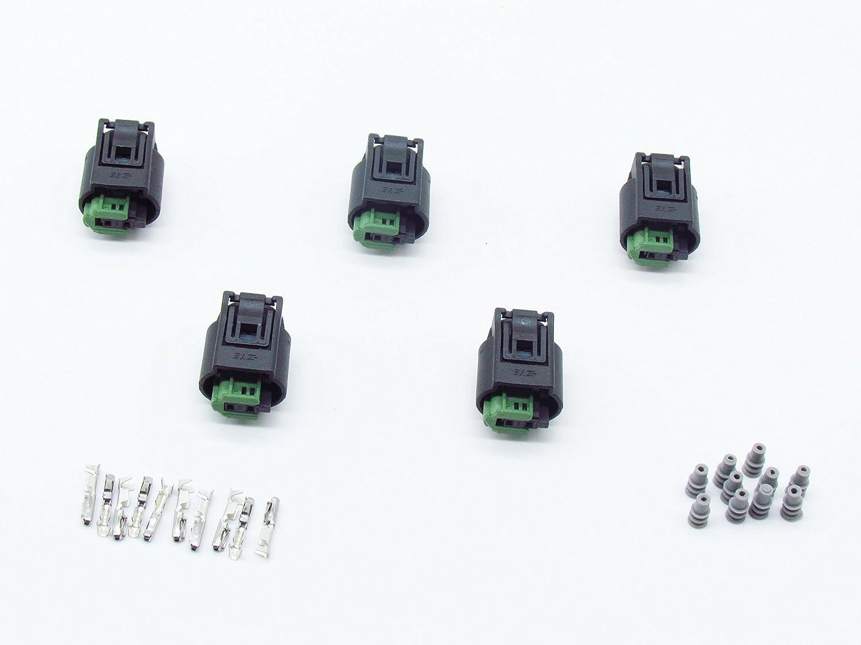 Cnkf 5 set 2 vie femmina Tyco sensore automatico Plug per Bwm Porsche Benz 968405 –  1 kaifa elec