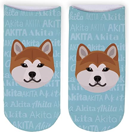 Ladies Novelty English Bulldog Design Socks Seamless Toe