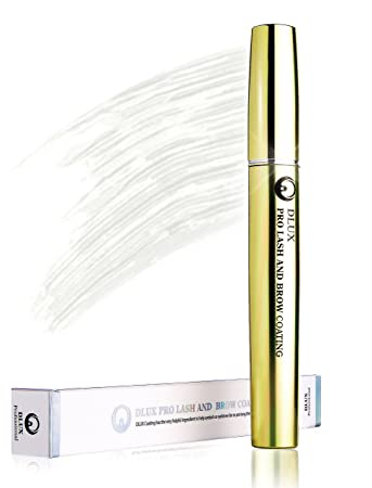 DLUX PROFESSIONAL LASH & BROW COATING MASCARA(8ml) White/Eyelash Mascara/ Latex