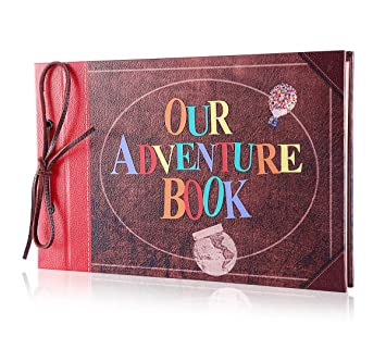 3d Letter Diy.Pulaisen Scrapbook Album Upgraded Our Adventure Book Handmade Diy Family Scrapbook With 3d Letter Cover Great For Thanksgiving Christmas