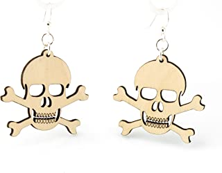 product image for Skull Crossbones Earrings