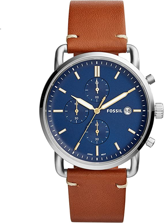 Fossil Mens The Commuter Chrono - FS5401