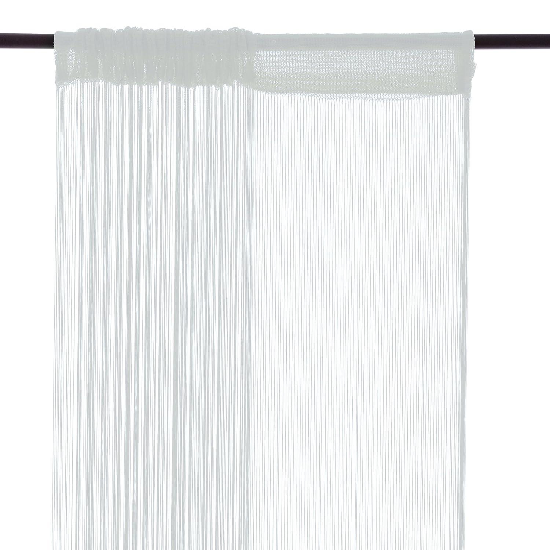 Smart Fox, tenda a fili, 100 cmx 250cm, in colore bianco Smartfox