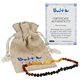 Amazon Price History for:Baltic Amber Teething Necklace For Babies (Unisex) (Raw Rainbow) - Anti Inflammatory, Drooling & Teething Pain Reduce Properties - Natural Certificated Oval Baltic Jewelry with the Highest Quality