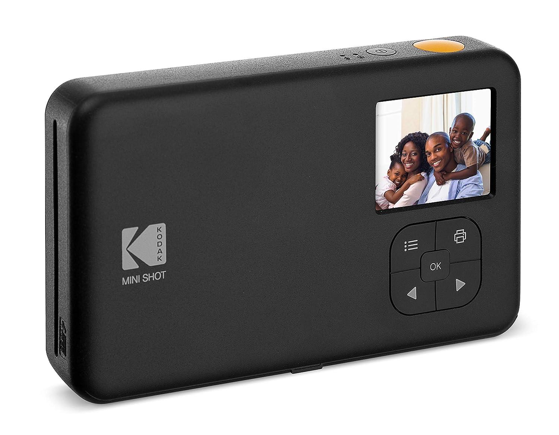 Kodak Mini Shot - Impresiones inalámbricas de 5 x 7.6 cm con 4 Pass, tecnología de impresión patentada, cámara digital de impresión instantánea 2 en 1, ...