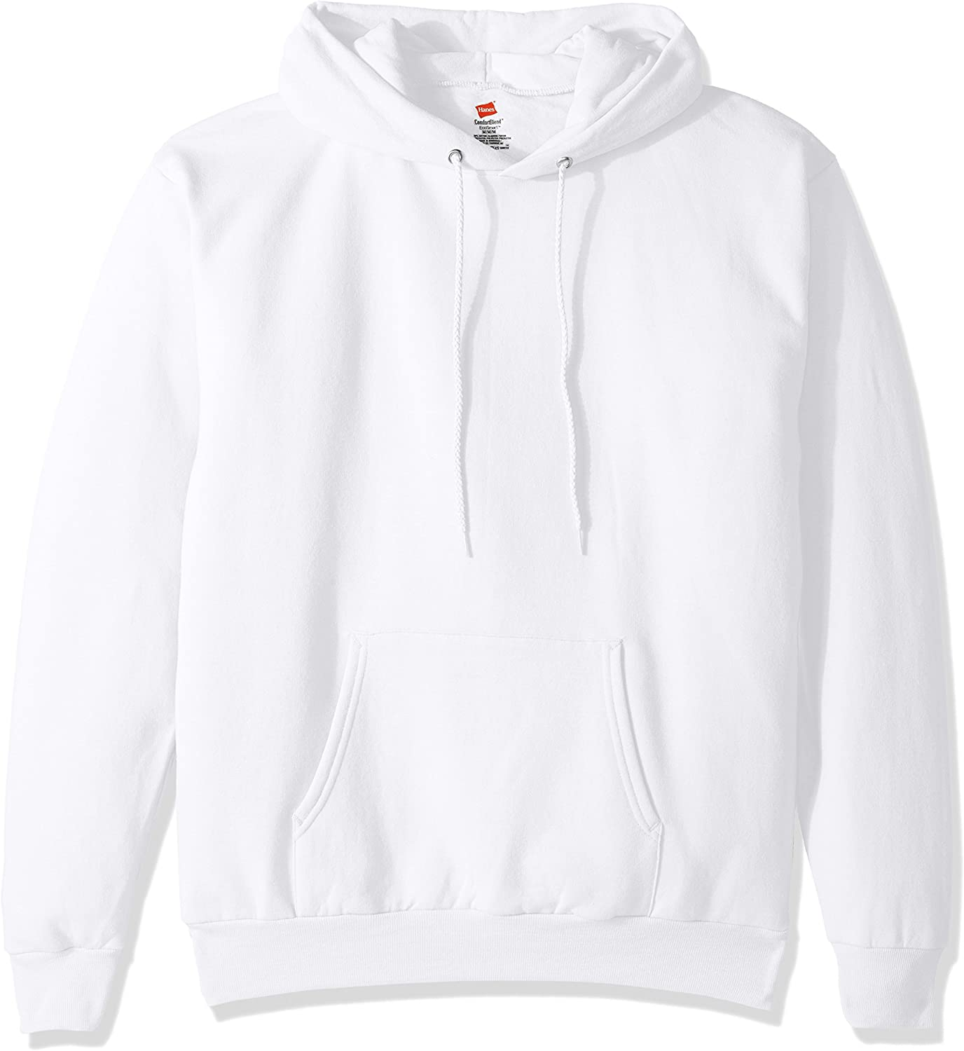 Hanes Mens Pullover Ecosmart Fleece Hooded Sweatshirt at  Men's Clothing store