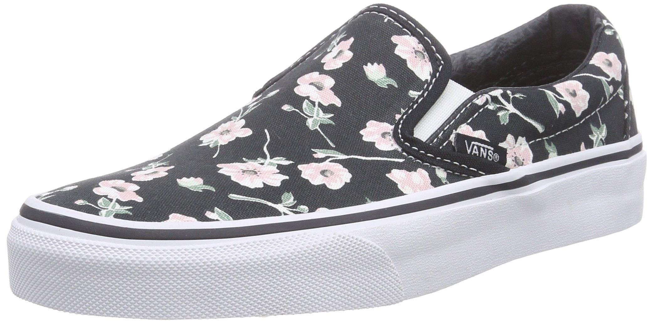 9baa076ca7 Galleon - Vans Unisex Classic Slip-On Skate Shoe (Vintage Floral-Bigrphite,  6 Womens / 4.5 Men US)