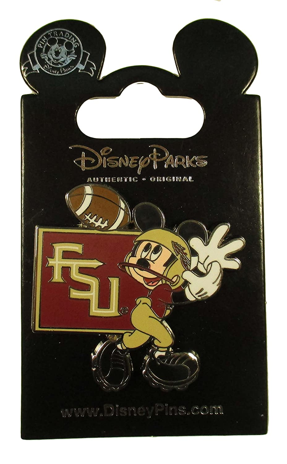 Disney Pin - FSU Football Player - Mickey Mouse