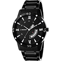 Redux Black Dial Day and Date Functioning Men's Watch RWS0234S