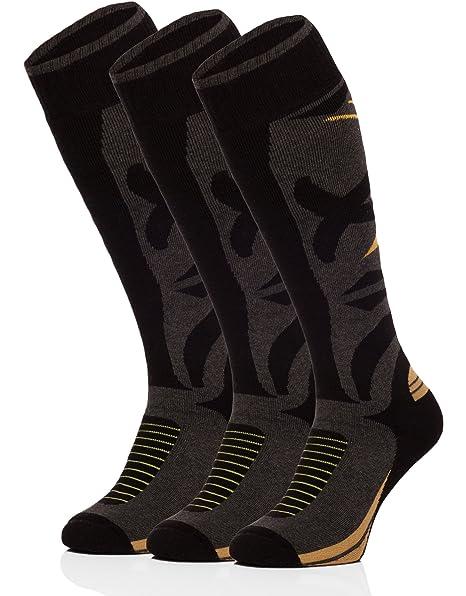 Ladeheid Hombre Calcetines de Esquí Calcetines Deportivos 518V1: Amazon.es: Ropa y accesorios