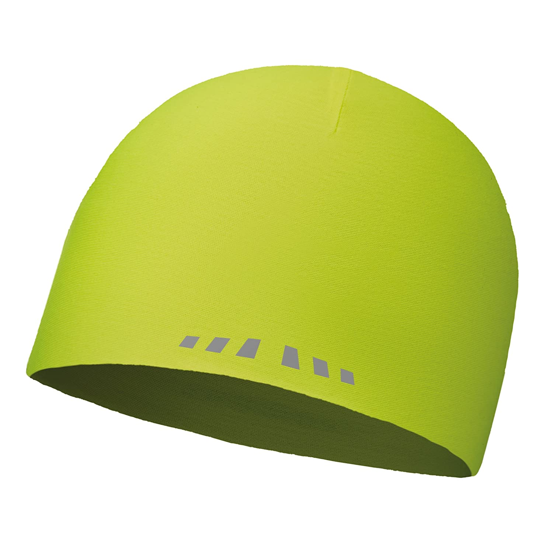 Buff 111397-117 Gorro de Invierno de Microfibra 2 Layer Tiene R-Solid Amarillo fl/úor