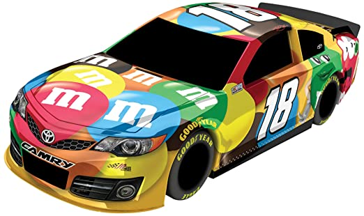 Amazon Com Kyle Busch M M S Nascar Plastic Toy Car