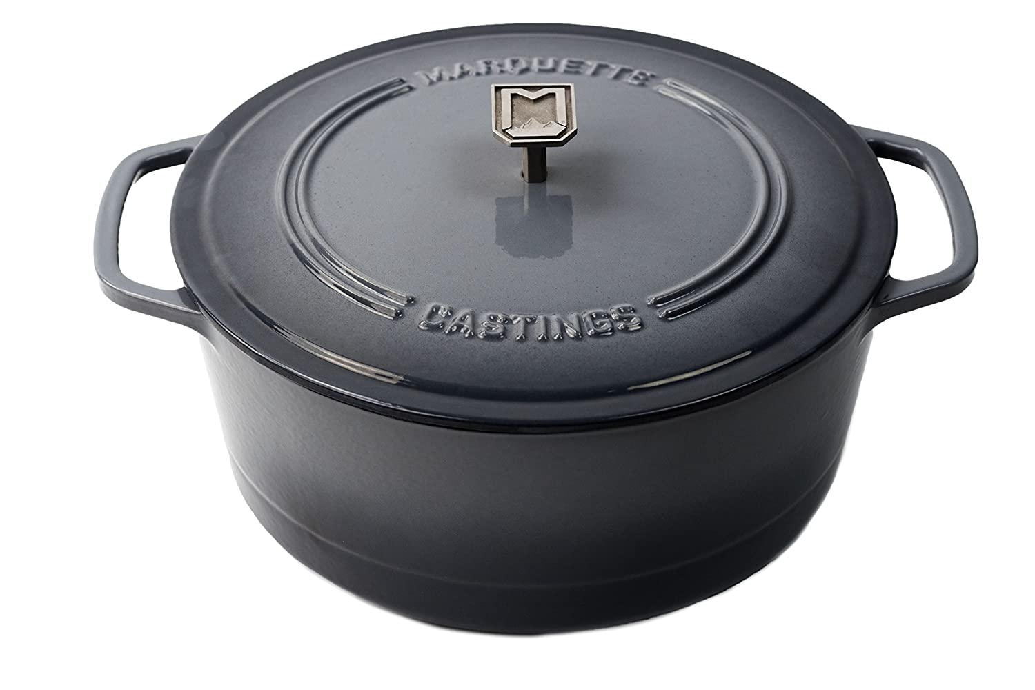 Marquette Castings 6 qt. Cast Iron Dutch Oven (Gray) SYNCHKG117421