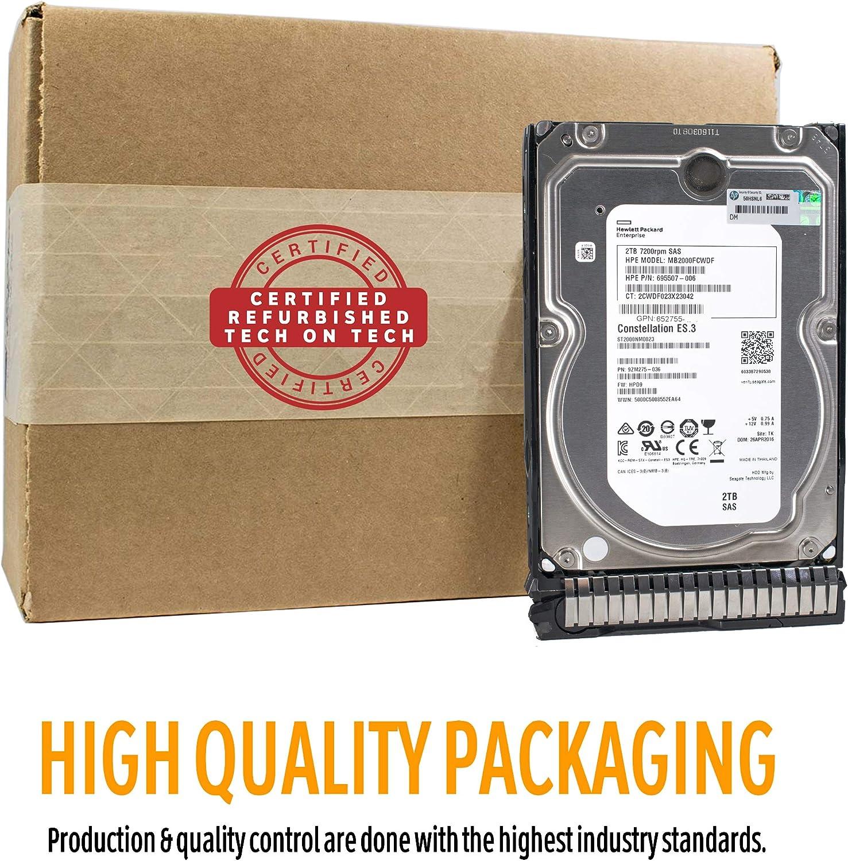 Certified Refurbished 1TB 6G SAS 7.2K rpm SFF Gen8 HP ISS