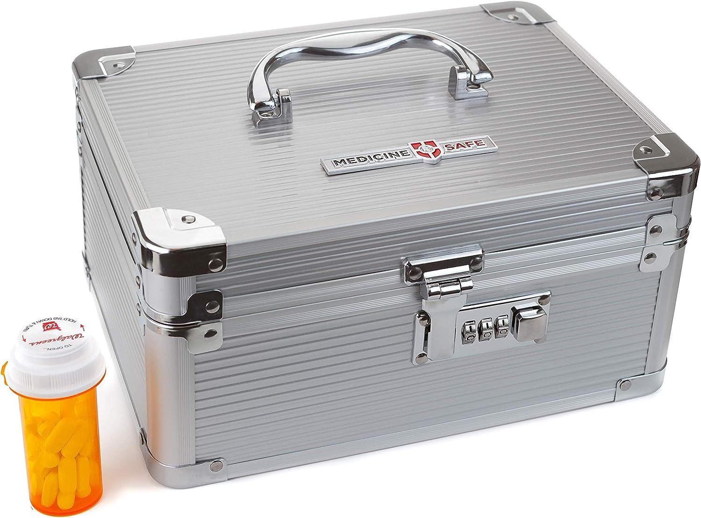 Medication Carrying Case_Medium/Silver