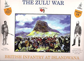 A Call to Arms Plastic Army Men 1//32 Zulu War Zulus at Ulundi #24 Figures