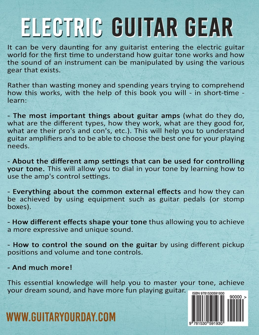 Electric Guitar Gear A Complete Beginner S Guide To Understanding