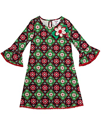 rare editions counting daisies holiday christmas dress 2t 6x 2t2