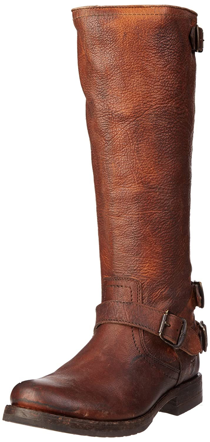 4901c0ac10af Details about FRYE Women s Veronica Back-Zip Boot