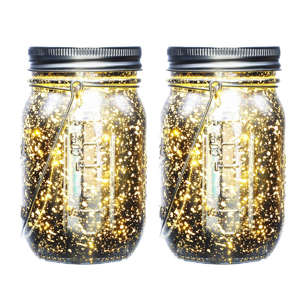 Mason Solar Powered Jar Lights IThird