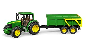 Bruder John Deere 6920 With Tipping Trailer By Bruder Toys Amazon