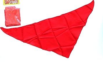 4 Pañuelos rojo para Sanfermin,HC Enterprise-04: Amazon.es ...