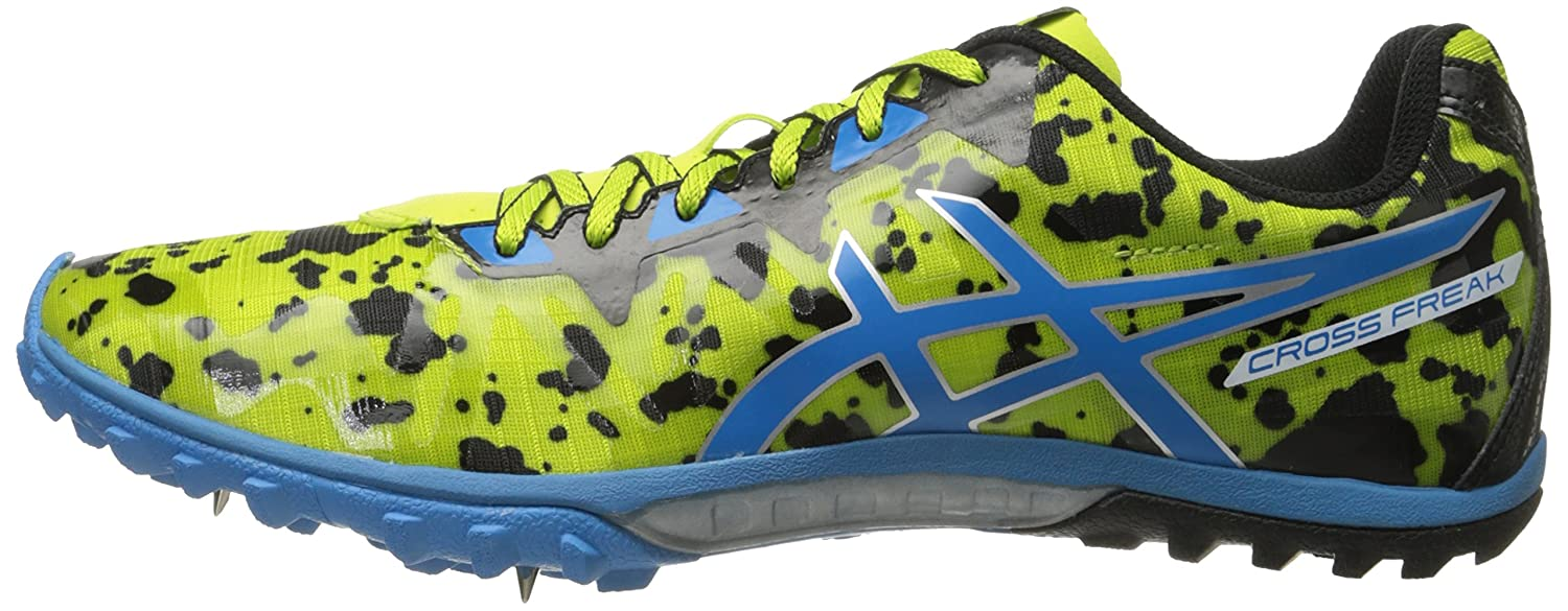 Asics Cross Freak 2 Uomo US 6 Verde Scarpa da Corsa: Amazon