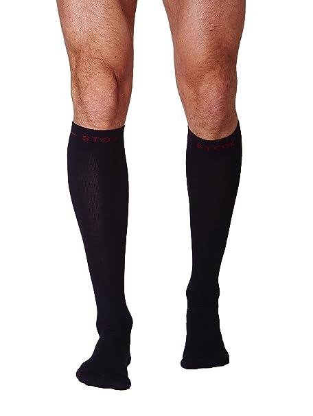Calcetines de trabajo STOX Hombre Negro X-Large / Calcetines de compresión / ¡Previenen las piernas cansadas!: Amazon.es: Ropa y accesorios