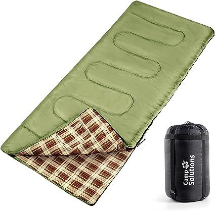 2-3 Season Single Adult Envelope Sleeping Bag Adult Camping Hiking Waterproof