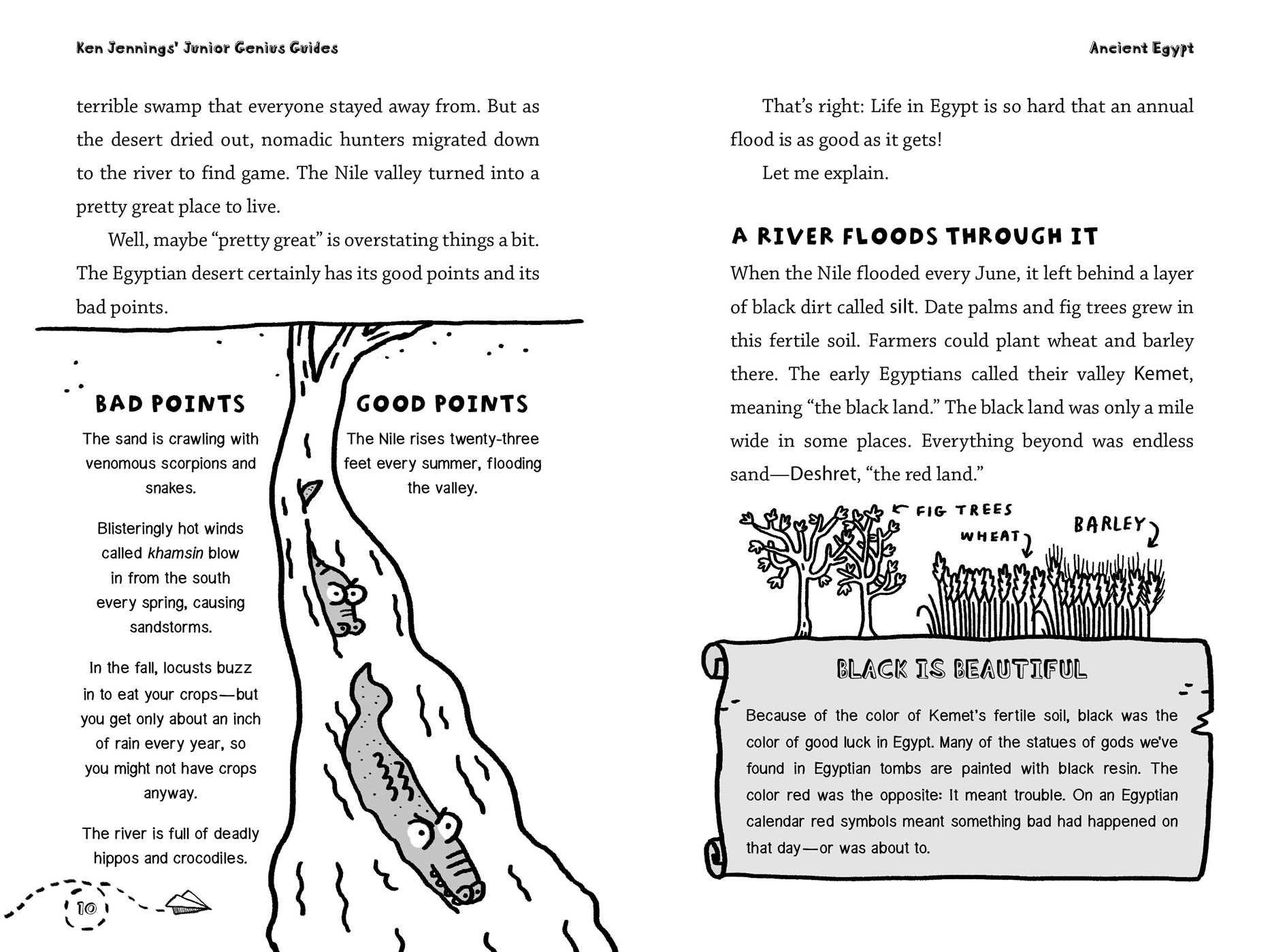 Amazon Ancient Egypt Ken Jennings Junior Genius Guides