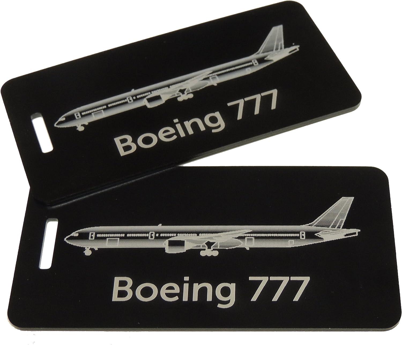 METAL American Airlines B777-CREW  LUGGAGE TAG