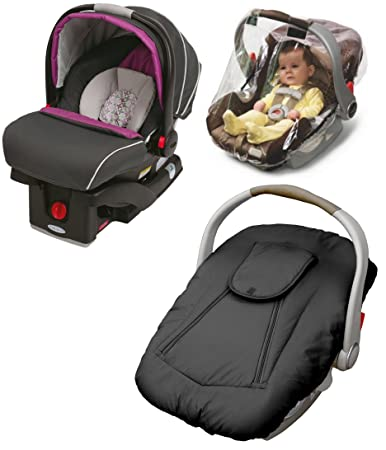 Amazon.com : Graco SnugRider Click Connect 35 Infant Car Seat with