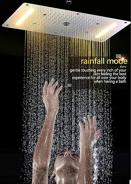 WEITING Juego de ducha termostático ocultado SUS304 Panel de ...