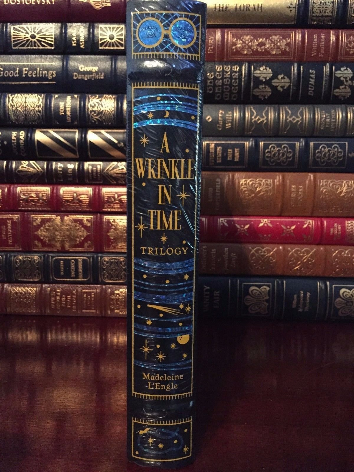A Wrinkle In Time Trilogy By Madeline L'engle Leather Bound Collectible:  Amazon: Books