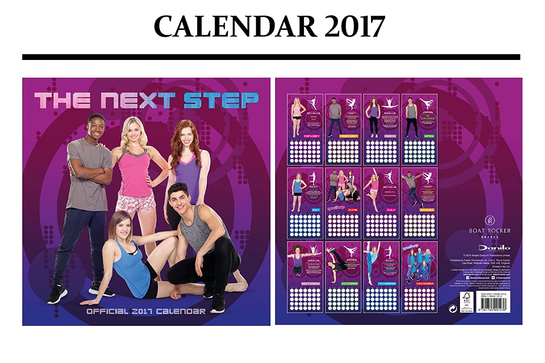 THE NEXT STEP OFFICIAL 2017 CALENDARIO + THE NEXT STEP IMÁN ...
