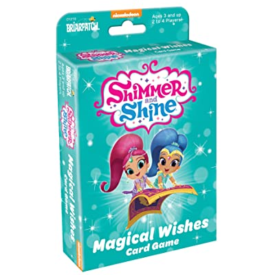 Briarpatch Shimmer & Shine Magic Wishes Card Game: Toys & Games