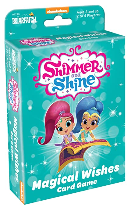 Amazon com: Briarpatch Shimmer & Shine Magic Wishes Card
