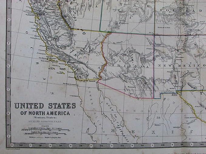 Amazon.com: United States elongated California Las Vegas in ...