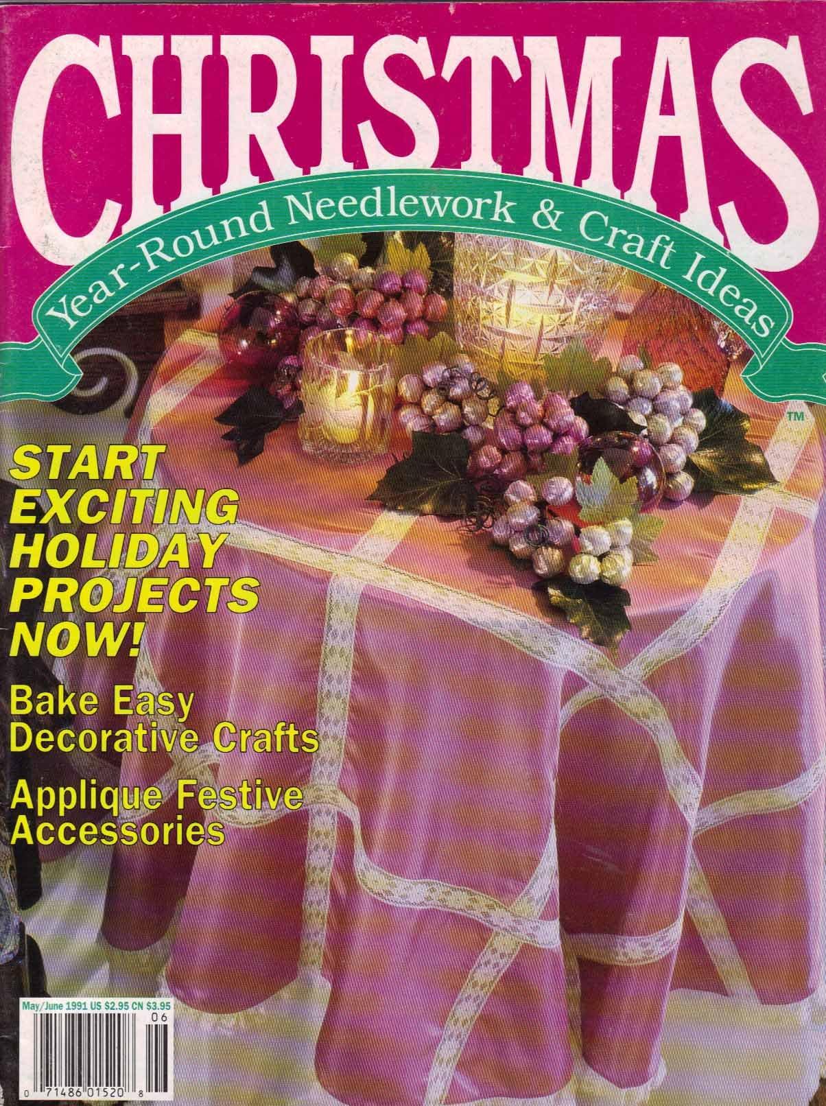 Christmas Year Round Needlework Craft Ideas May June 1991